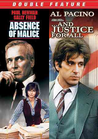 ABSENCE OF MALICE/AND JUSTICE FOR ALL BY PACINO,AL (DVD)